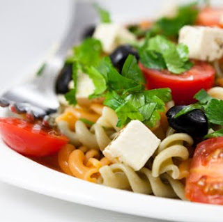 Greek Gourmet Pasta Salad Recipe