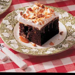 Butterscotch Chocolate Cake Recipe