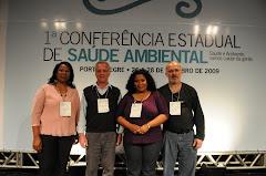 Representantes de Viamão na I Conferência Nacional de Saúde Ambiental-Etapa Estadual