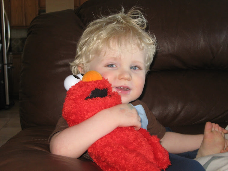 just hangin' out with my buddy, Elmo