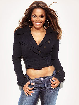 Janet Jackson, de zus van Michael, heeft haar