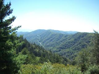 Breathtaking View of the Smokey Mountains!