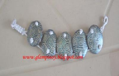 bracelet made of coconut shell