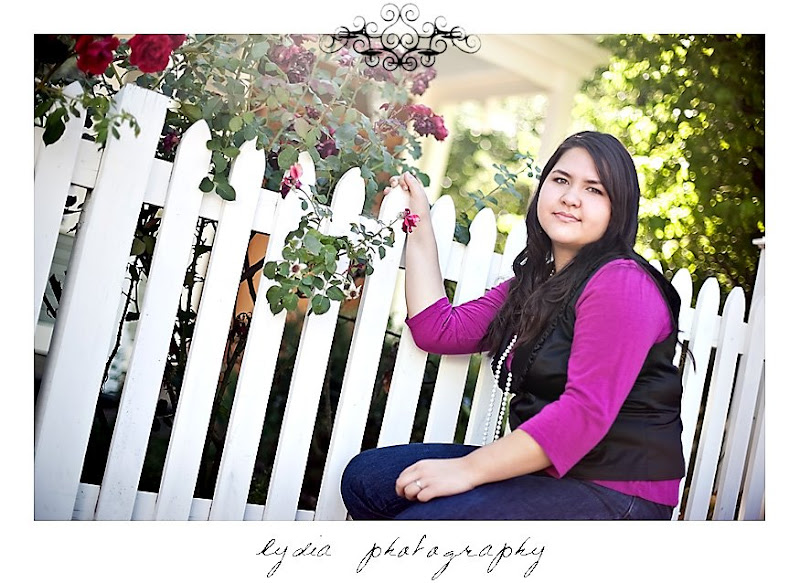 Elizabeth's senior portraits in Nevada City
