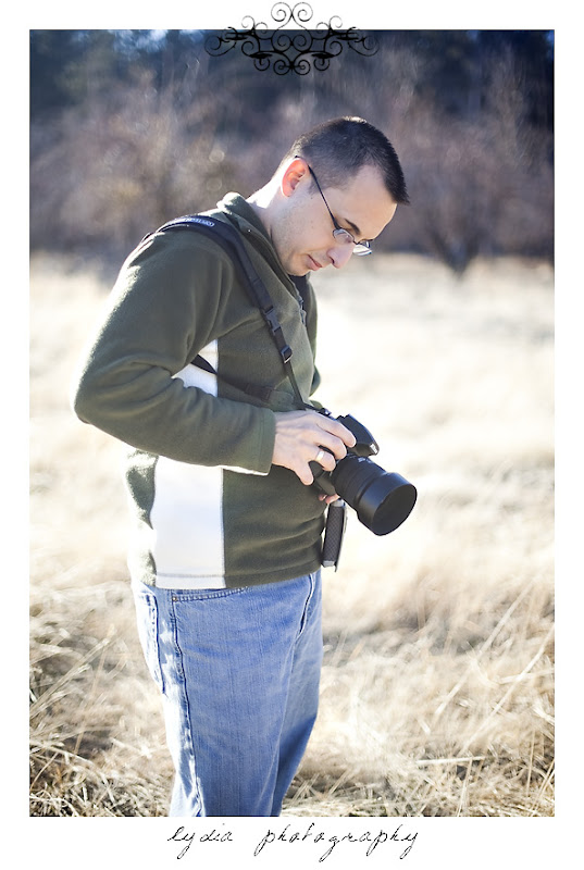 Michael checking his camera in Verdi Nevada