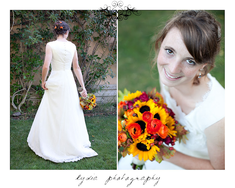 Bridal portraits at a Kenwood Farms & Gardens wedding
