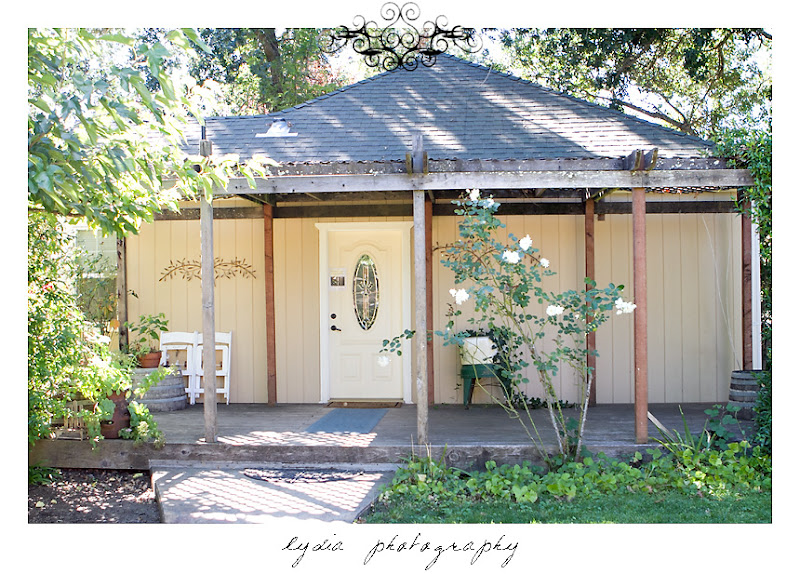 Kenwood Farms & Gardens' bridal cottage