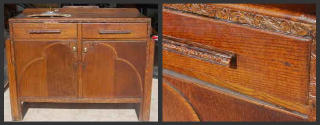 Inspire Bohemia Craigslist Miami Finds 92210 : Craiglistfurniture vintage antique artdeco woodcabinet sideboard buffet vanity dresser sinkcabinetcollage from www.inspirebohemia.com size 1024 x 402 jpeg 108kB