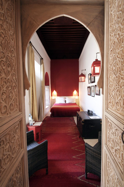 Red Moroccan Bedrooms