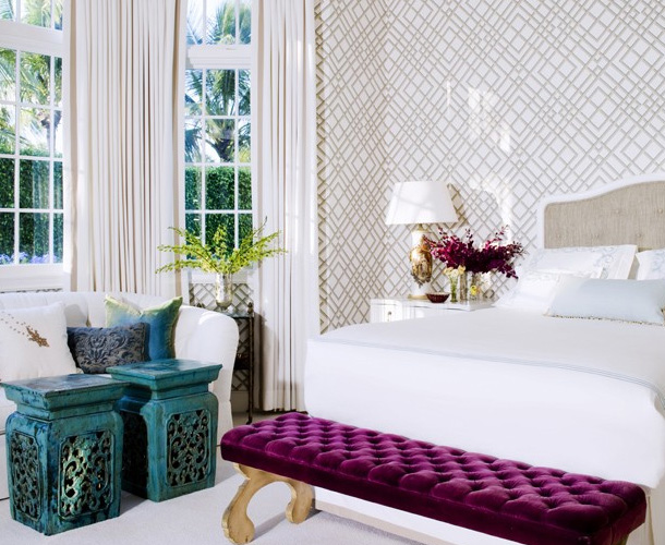 Purple and turquoise bedroom ideas home decorating ideas for Bedroom ideas turquoise
