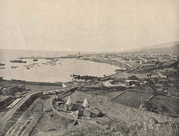 Solo de canarias imagenes antiguas del muelle de tenerife for Oficina turismo canarias