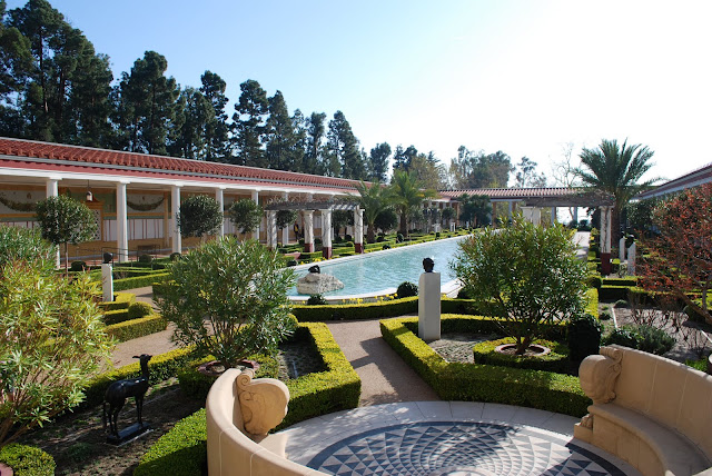Gardens at the Getty Villa, California