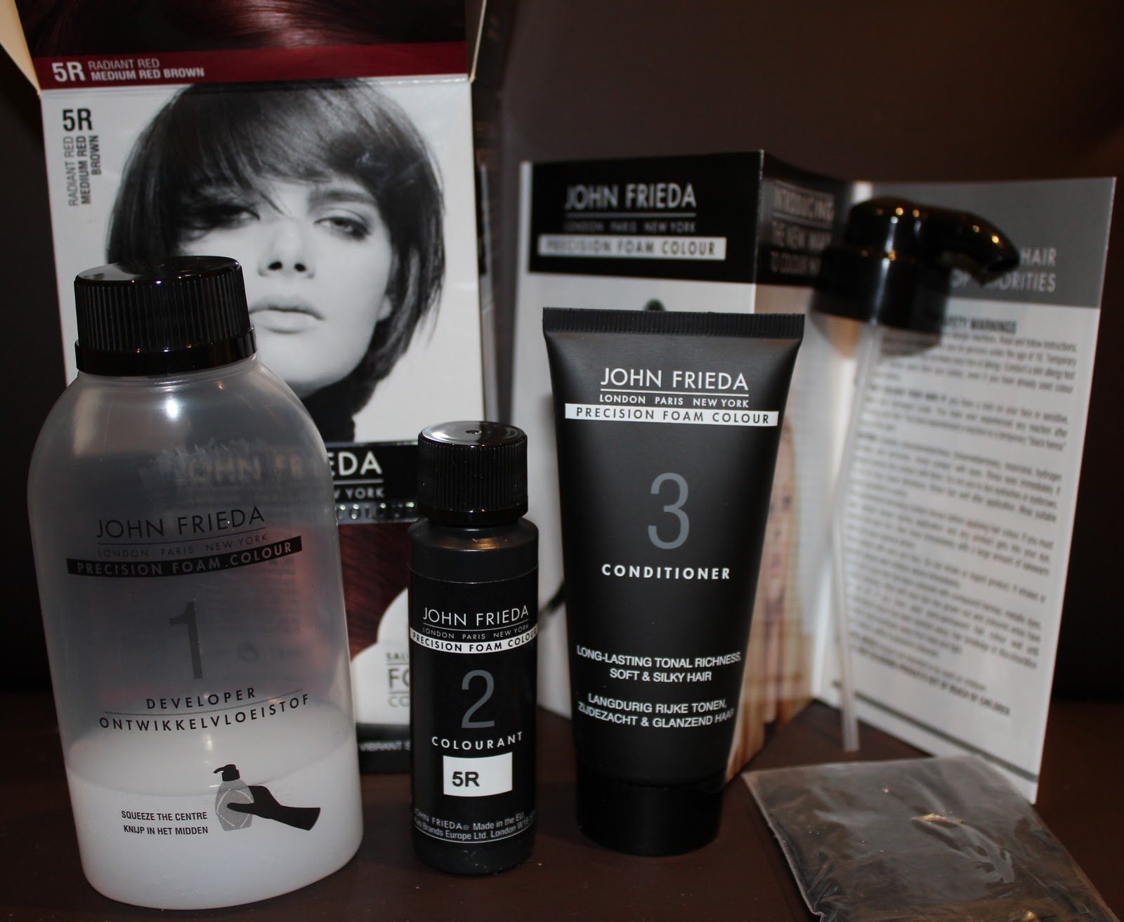 John Frieda Precision Foam Colour Natalyas Beauty Blog