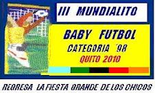 III MUNDIALITO DE BABY FUTBOL