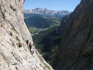 Klettersteig Dolomiten : Alp trÄume südtirol pisciadù klettersteig in den dolomiten