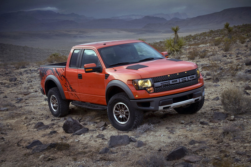 The latest 2011 Ford F-150 SVT