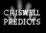 (Video) Criswell Predicts....