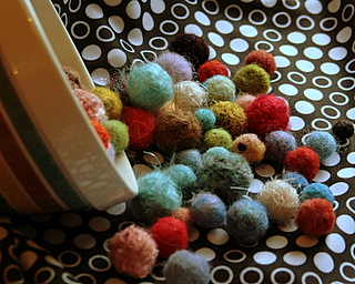 Having a ball felting