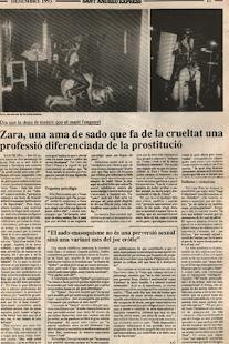 Dómina Zara entrevistada