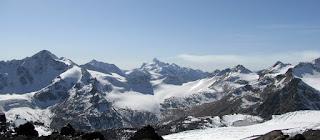 Panorama asupra Caucazului Rusia