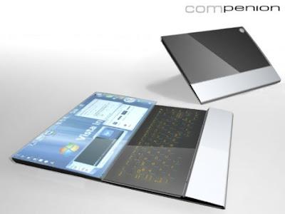 Inilah Desain Laptop Masa Depan