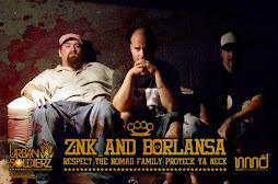 ZNK and BORLANSA
