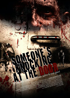 Filme Poster Someones Knocking At The Door DVDRip RMVB Legendado