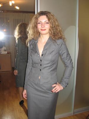Женский деловой костюм 2013 - отличное
