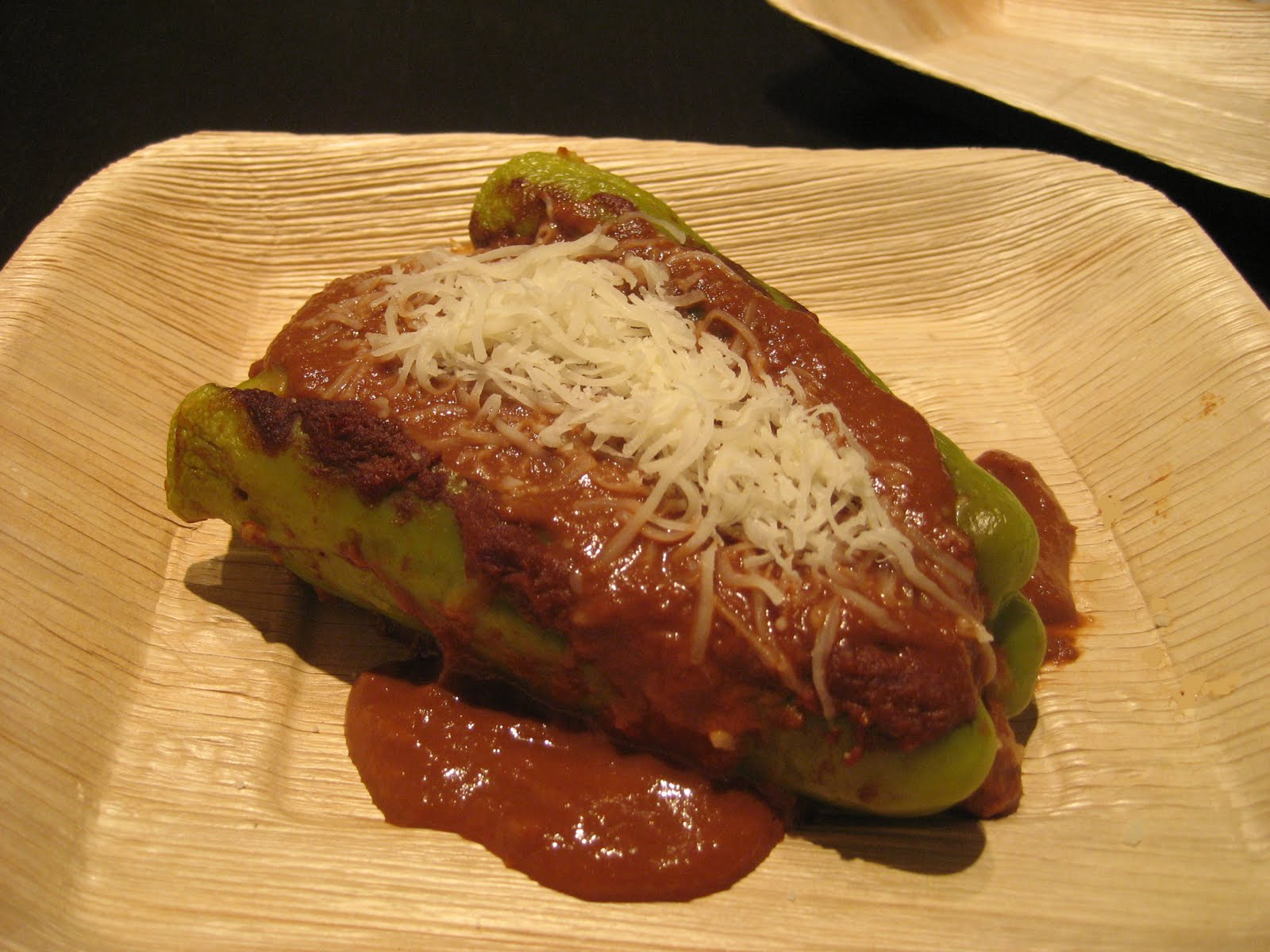 Chile Rellenos - Exotic Stuffed Peppers in a Mole Sauce | Eatomaniac ...