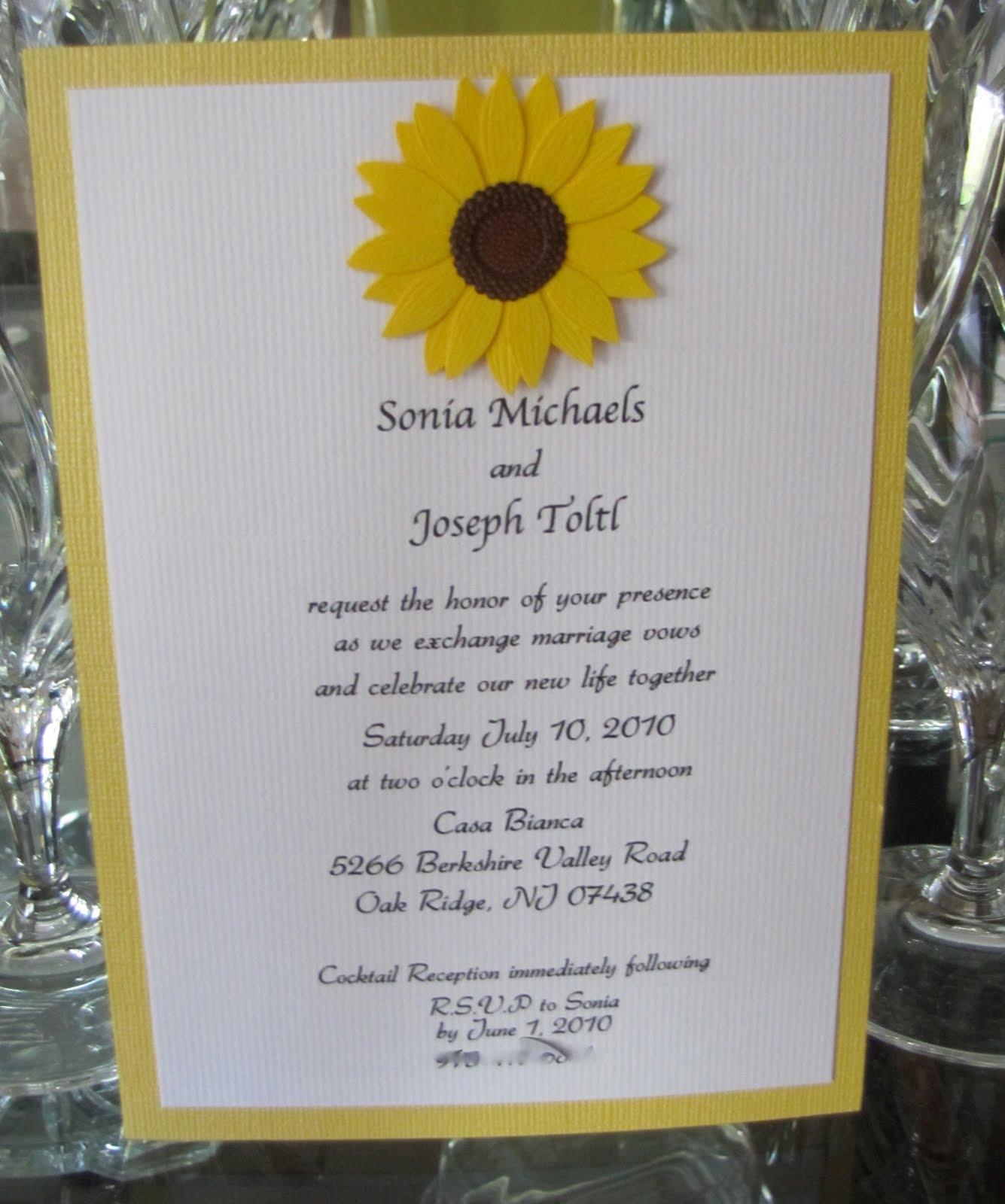 Happy Hound Creative: Sunflower Wedding