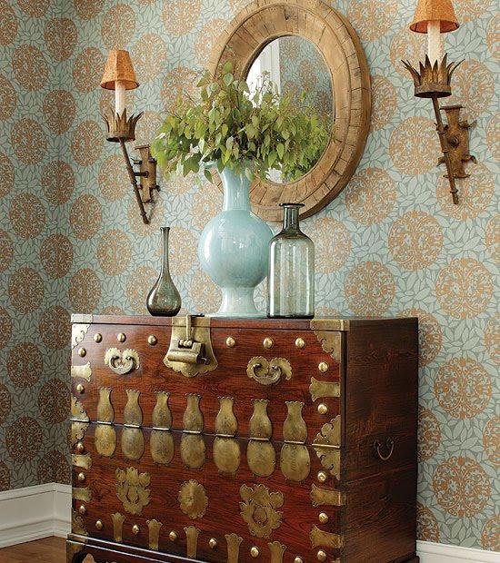 Interior Materials Resource Library Blog: Thibaut Wallpaper