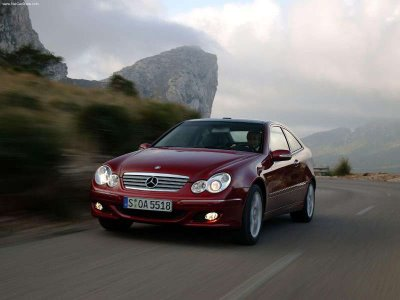 2004 Brabus Mercedes Benz C V8 Sports Coupe. BENZ