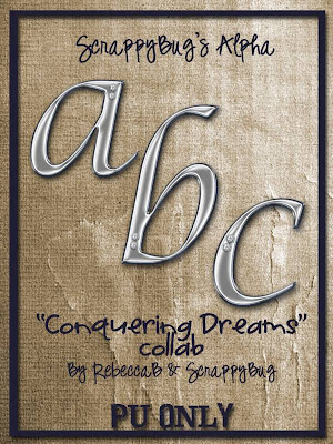 http://scrappy-bug.blogspot.com/2009/09/conquering-dreams-alpha.html