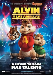 Alvin y las ardillas - Cartel