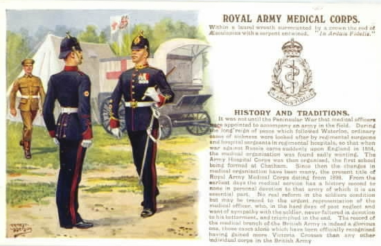 Army Medical Corps Uniform Royal Army Medical Corps