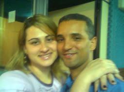 Marcelo e esposa Priscila
