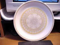 Franciscan Hacienda Gold Dinner Plate - click for full size view