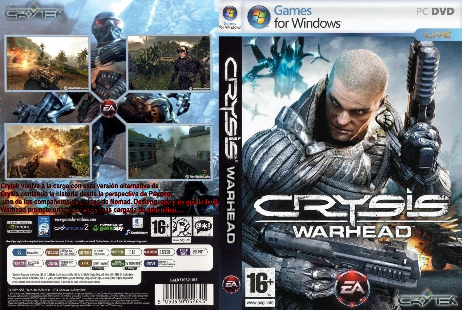Microsoft have A one Warhead crysis and of 2014 Crysis: Dvd 15th, 1067 pc.