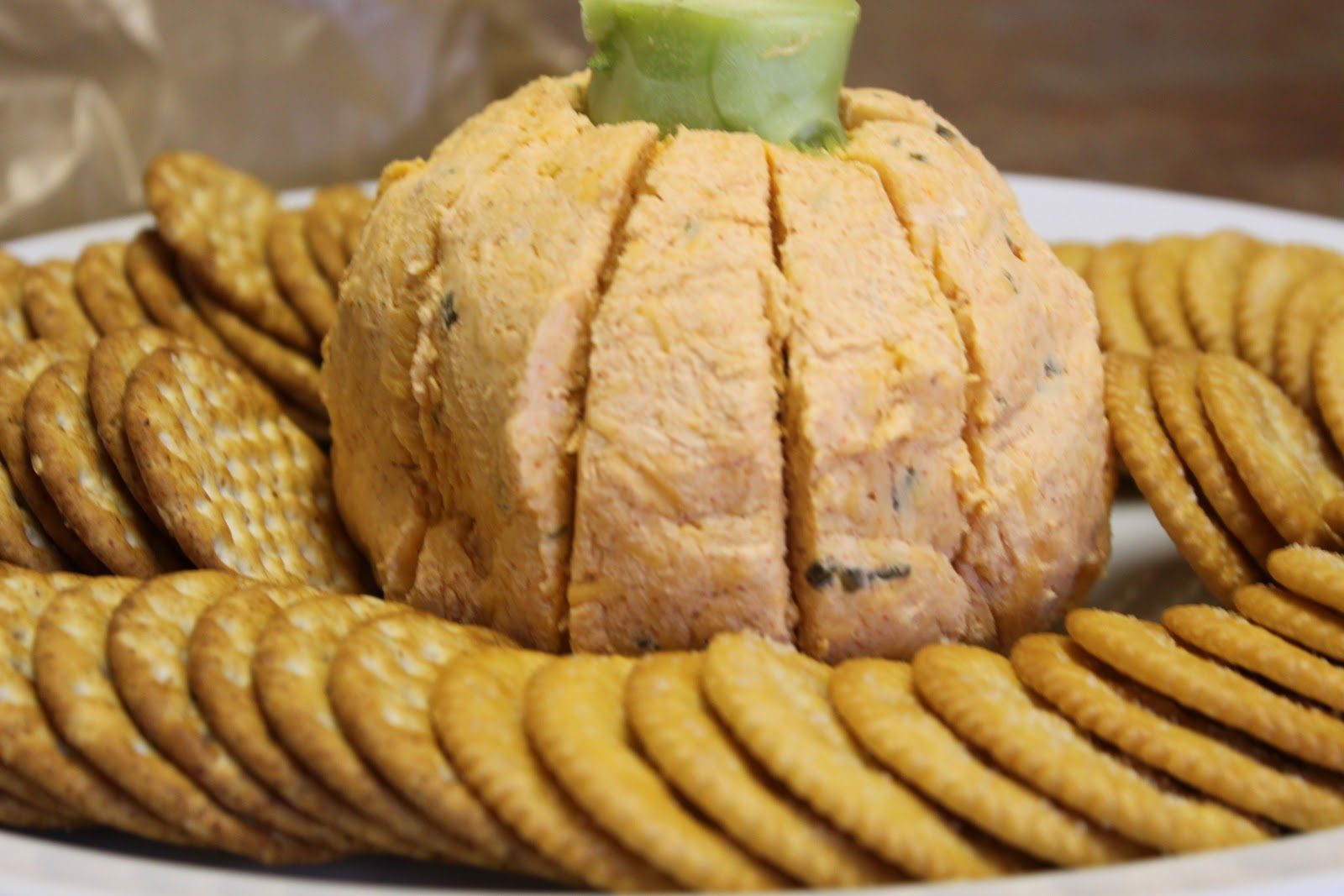 Gooseberry Patch Pumpkin Cheeseball