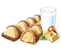 Kinder bueno s white chocolate 1 the onomatopoeia of the name kinder