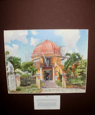 Octagon, 1812 Bolivar residence, Curacao