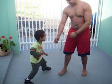 Leonardo enfrentando o Raul