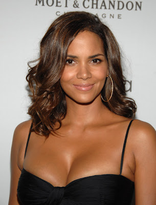 halle berry face