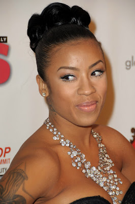 Keyshia Cole Wore The Same Beautiful Necklace From The Grammy Awards
