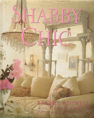 Shabby Chic furnishings are often executed in the softest fabrics and