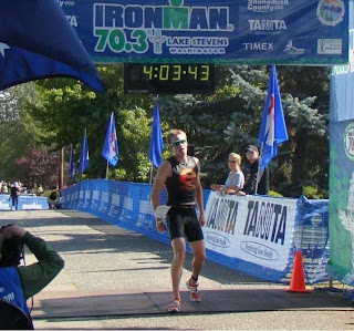 Jeff Symonds 2nd at Ironman Lake Stevens 70.3