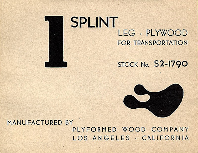 splint product label