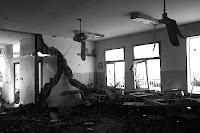 Bombed school in Gaza