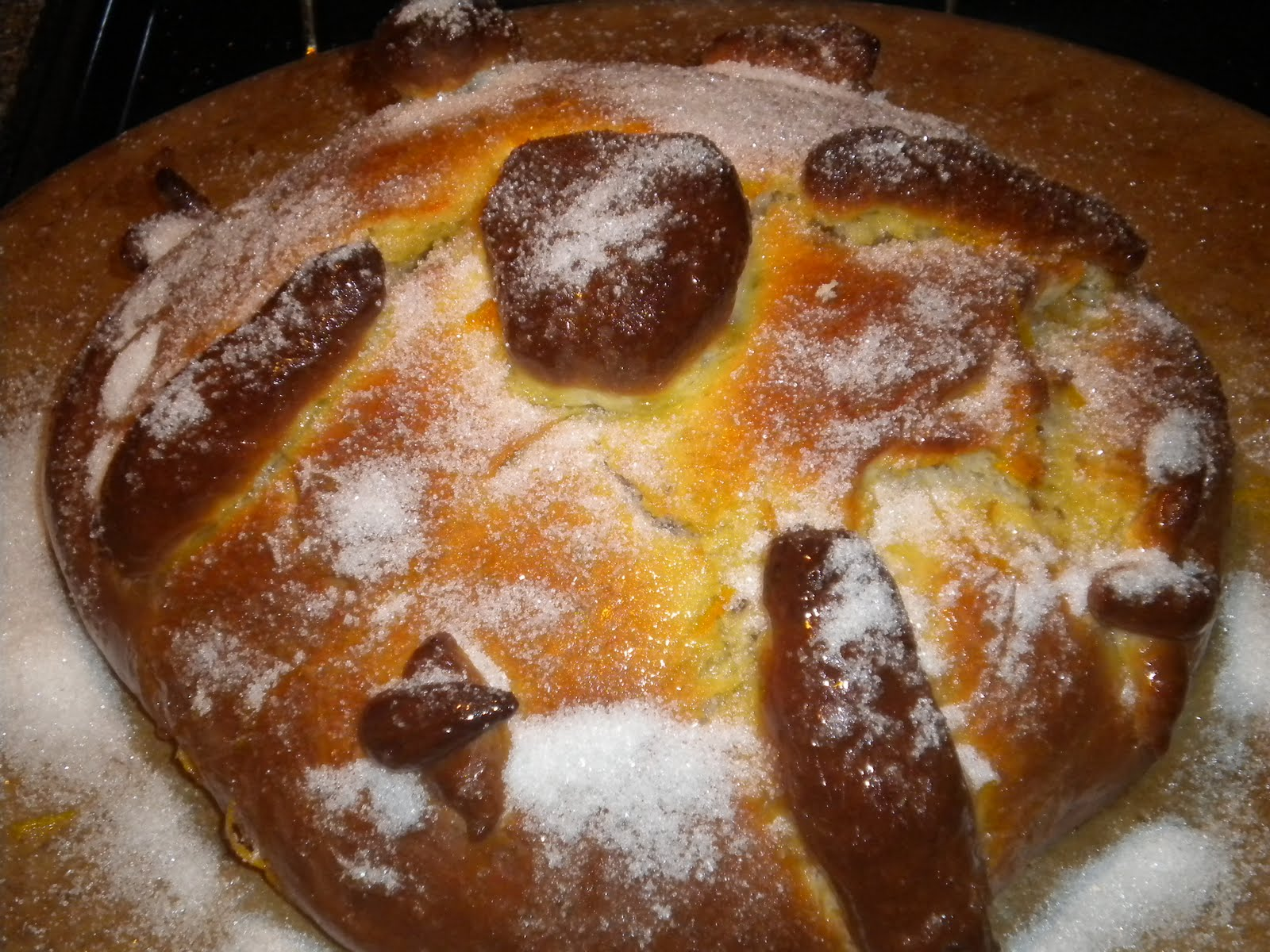 2nd dia de los muertos day of the dead with pan de muerto bread of