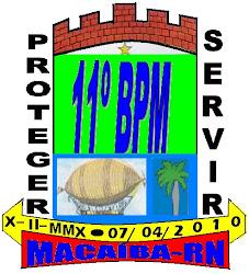 11º BPM - MACAÍBA-RN